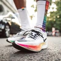 Sepatu Nike Zoom Vaporfly White Guava Ice Black Premium Original