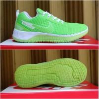 Sepatu Running Nike Zoom Lokal Hijau Putih