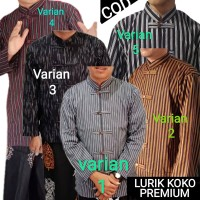 Surjan Lurik - baju adat Jawa - Coco - sanghai