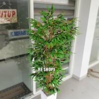 Bunga Plastik/Bunga Artificial/Pohon Bambu hias Plastik