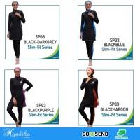 Baju renang muslim muslimah wanita sporte SLIMFIT SP03