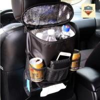 Car Seat Back Organizer / Tempat Penyimpanan Makanan Dan Minuman