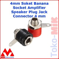 4mm Soket Banana Socket Amplifier Speaker Plug Jack Connector 4 mm