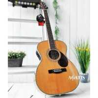 Gitar akustik elektrik samick gregbennet OM8 N fishman