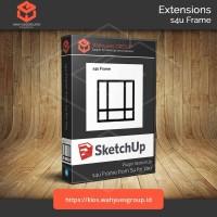 s4u Frame Plugin SketchUp Original License dan Support
