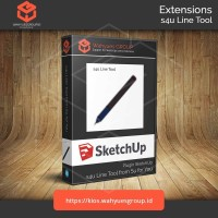 s4u Line Tool Plugin SketchUp Original License dan Support
