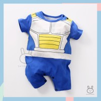 Baju Romper / Jumper Anak Bayi Laki-laki Anime Vegeta Dragon Ball