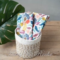 Kain Kanvas Impor motif Colorfull Flower
