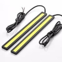 Lampu LED DRL COB 17 cm Variasi Aksesoris Mobil Motor 2 Pcs CNS