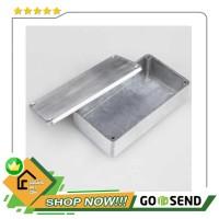 Kotak Casing Aluminium Metal Stomp untuk Pedal Efek Gitar - 1590BB