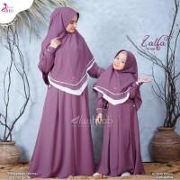 baju gamis setelan ibu dan anak/gamis couple plus hijab terbaru