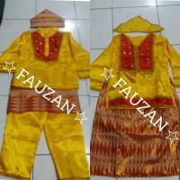 Pakaian adat bangka belitung TK // Baju bangka belitung S Lk / Cwe