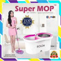 Alat pel lantai Bolde Super Mop M169X+ special edition stainless 169x