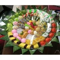 Kue tampah tradisional kue jajanan isi 100 pcs