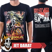 KAOS RX KING JET DARAT 135CC | T-SHIRT RX KING INDONESIA