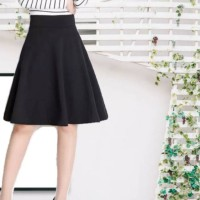 rok A pendek hitam payung import