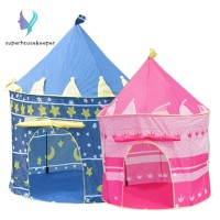 Children Beach Tent Baby Toy Play Game House Kids Princess Prince