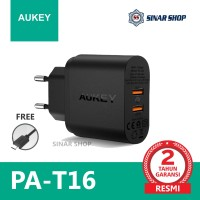 AUKEY PA-T16 CHARGER 2 PORTS 36W QC 3.0