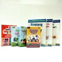 Paket MIX D Flash Card / FlashCard / Kartu Bayi / Mainan Edukasi Anak