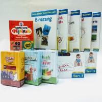 Paket MIX B Flash Card / FlashCard / Kartu Bayi / Mainan Edukasi Anak