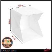 Mini Box Photo Studio LED Lighting Tent Portable Folding Light