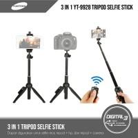Tongsis Yunteng 9928 Selfie Stick Bluetooth Tripod Tongsis Bluetooth