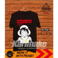Kaos Baju Anime One Piece Monkey D. Luffy V1 Kaos Anime - Karimake