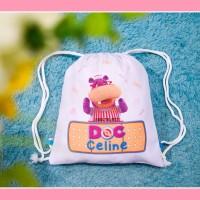 Drawstring Bag Drill Goodie Bag Ultah