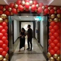 paket dekorasi balon imlek