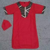 Gamis Koko Jubah Size XXL 5-7 tahun Baju Muslim Anak Laki Cowok TK