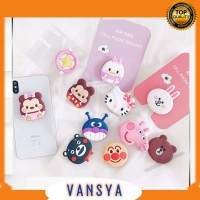 POP SOCKET KARAKTER CARTOON CUTE 3D POP SOCKET HP POP SOCKET MURAH