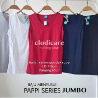 Baju Atasan Inner Hamil dan Menyusui Pappi Jumbo LD110 by Mamigaya