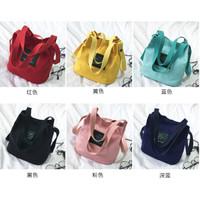 WS Tote Bag Mini WB180 Kanvas Tas Wanita 2 in 1 Women's Shoulder