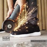 Sport Safety shoes reseller Reisengear Resmi, SLATE HITAM