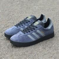 Sepatu Adidas Gazelle grey black original Made in Indonesia
