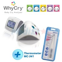 PAKET OMRON THERMOMETER MC-341 + WHYCRY PLUS