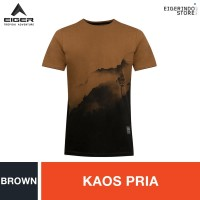 Eiger 1989 Misty Mountain T-shirt - Brown