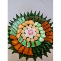 Kue Tampah - Kue Basah type 4 - Hantaran - Dominocake