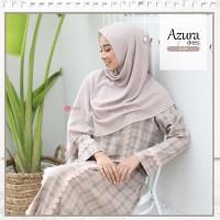 Zizara AZURA Dress B04 Gamis Only Bahan adem KATUN MADINAH MOTIF