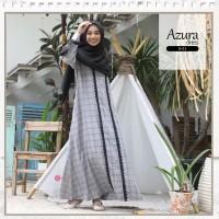 Zizara AZURA Dress B01 Gamis Only Bahan adem KATUN MADINAH MOTIF