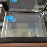 Aquarium Nisso Bahari Hitam Bending Size M