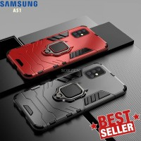 Case Samsung A51 A71 Transformer i Ring Stand Magnetic Holder Hard Cas