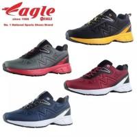 Sepatu Eagle Force 2 size 37 - 44 Running Shoes