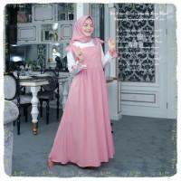 Busana Muslim Wanita Terbaru Gamis Maxi Kiva Dress