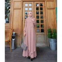 Gamis Muslim Terbaru Miza Dress Fashion Wanita terbaru