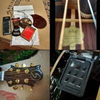 Terjual Gitar Akustik Elektrik Samick Greg Bennett Asdr All Solid