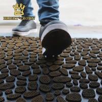 Keset Dot Kamar Mandi Bahan PVC Motif Karpet Pola Batu UK 40 x 60 cm