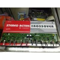 Kit crossover aktif 3 way stereo