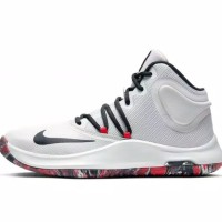 Sepatu Basket Pria Nike Air Versitile 4 White Asli Import