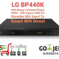 LG Dvd Player BP440K Bluray 3 Dimensi Smart HDMI Usb movie Garansi